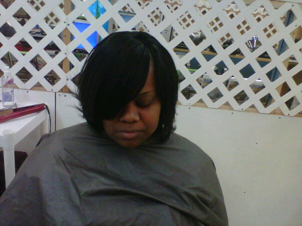 SEW IN BOB, INVISIBLE PART